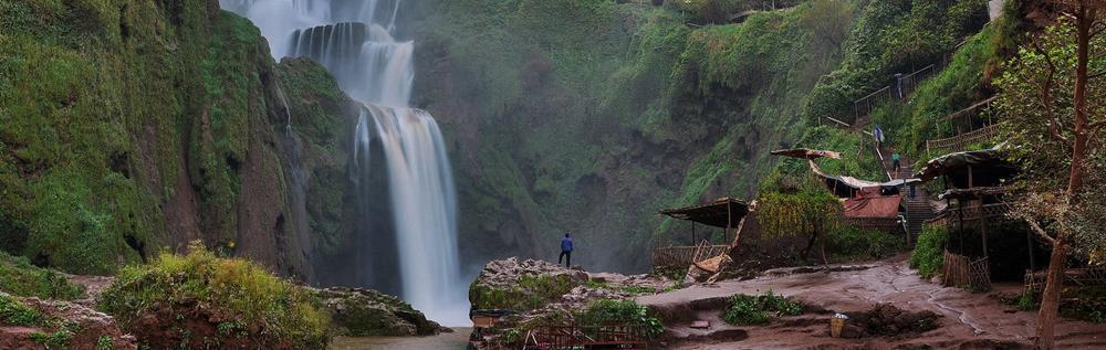 excursiones desde Marrakech a las cascadas de Ouzoud con Marruecos Puesta de Sol