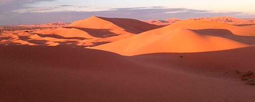 Luna de miel en el Desierto Merzouga