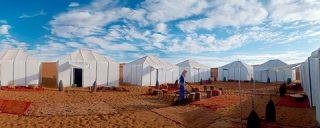 Dormir en el desierto de Marruecos en Haimas