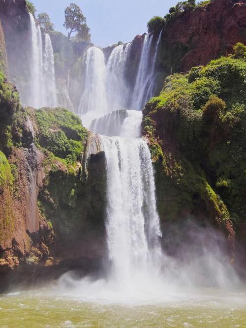 excursiones desde Marrakech a las cascadas de Ouzoud en español
