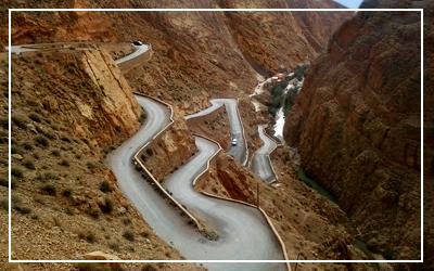Ruta de 8 días por Marruecos, gargantas del Dades