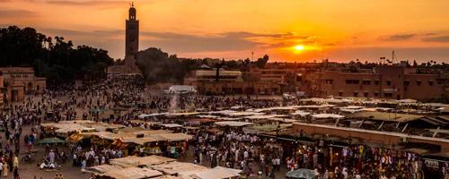 viaje de novios en Marrakech