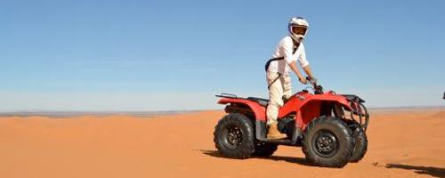 Rutas en quad por el desierto