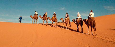 ruta por el desierto de marruecos