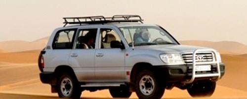 Rutas por el desierto en 4x4