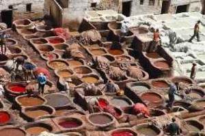 tanneries-traditionnelles Fez