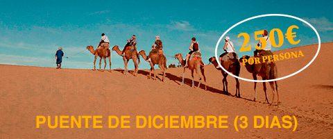 Viaje a Marruecos en el puente de diciembre 2017, desierto de Merzouga